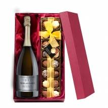 Personalised Prosecco with Hand Made Truffles