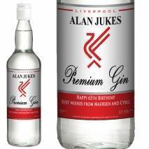Personalised Liverpool Gin - Any Occasion