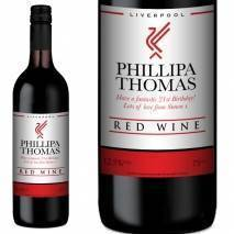 Personalised Liverpool Red Wine Gift - Any Occasion