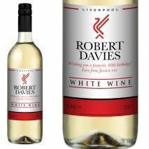 Personalised Liverpool White Wine Gift - Any Occasion