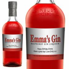 Personalised Raspberry Gin for Any Occasion