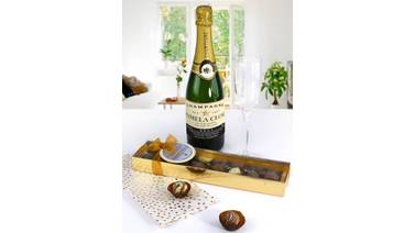 Personalised Champagne Labels