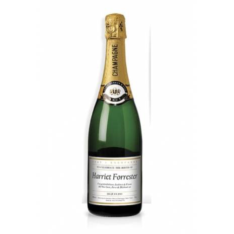 New Baby - Personalised Champagne