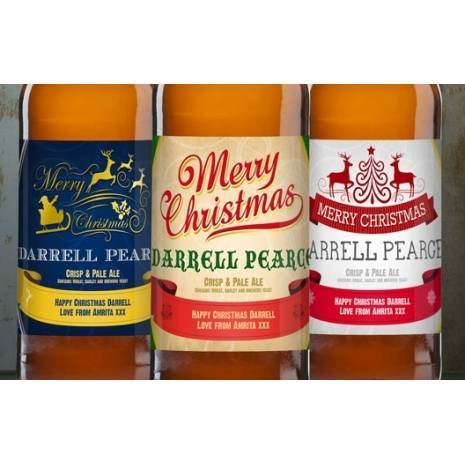 Personalised Christmas Set Three Pack Craft Bee