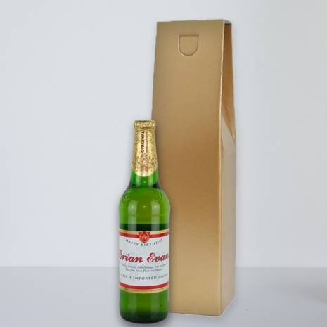 Personalised Budweiser Budvar Lager for Any Occasion