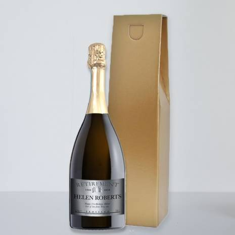 Personalised Retirement Prosecco