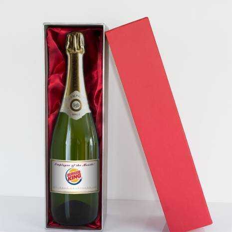 Personalised Champagne with own Logo, Design or Photo