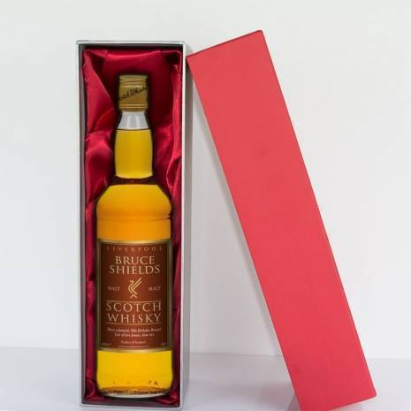 Personalised Liverpool Malt Whisky - Any Occasion