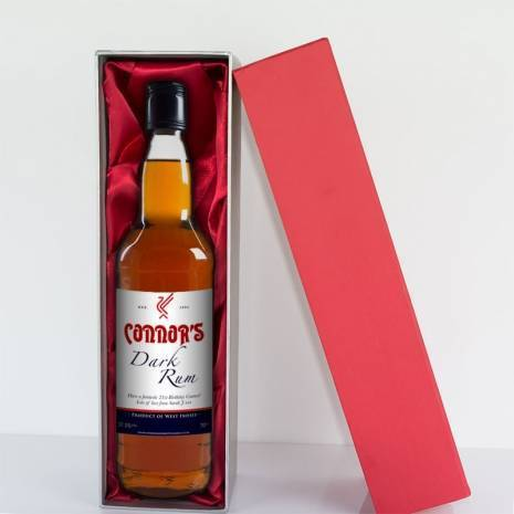 Personalised Liverpool Dark Rum - Any Occasion